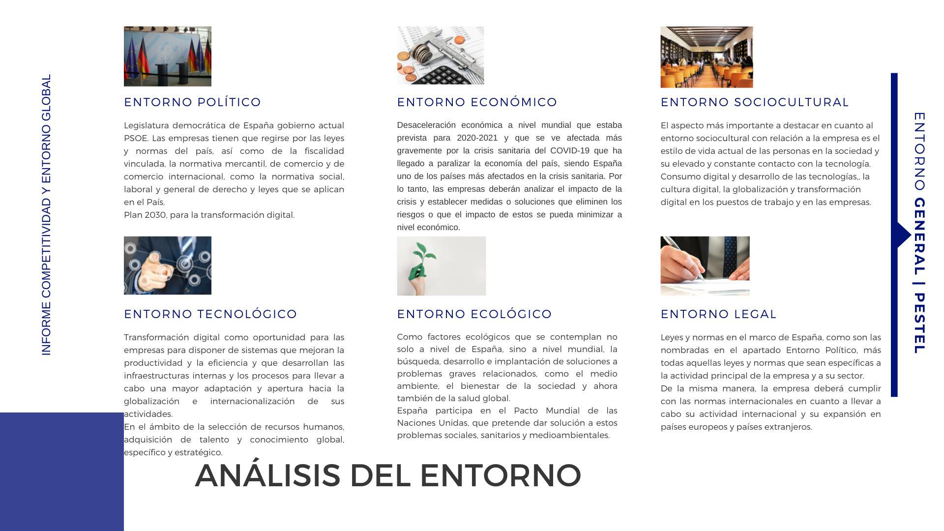 PESTEL EGN - Presentación entorno global de negocios Esther Esteva